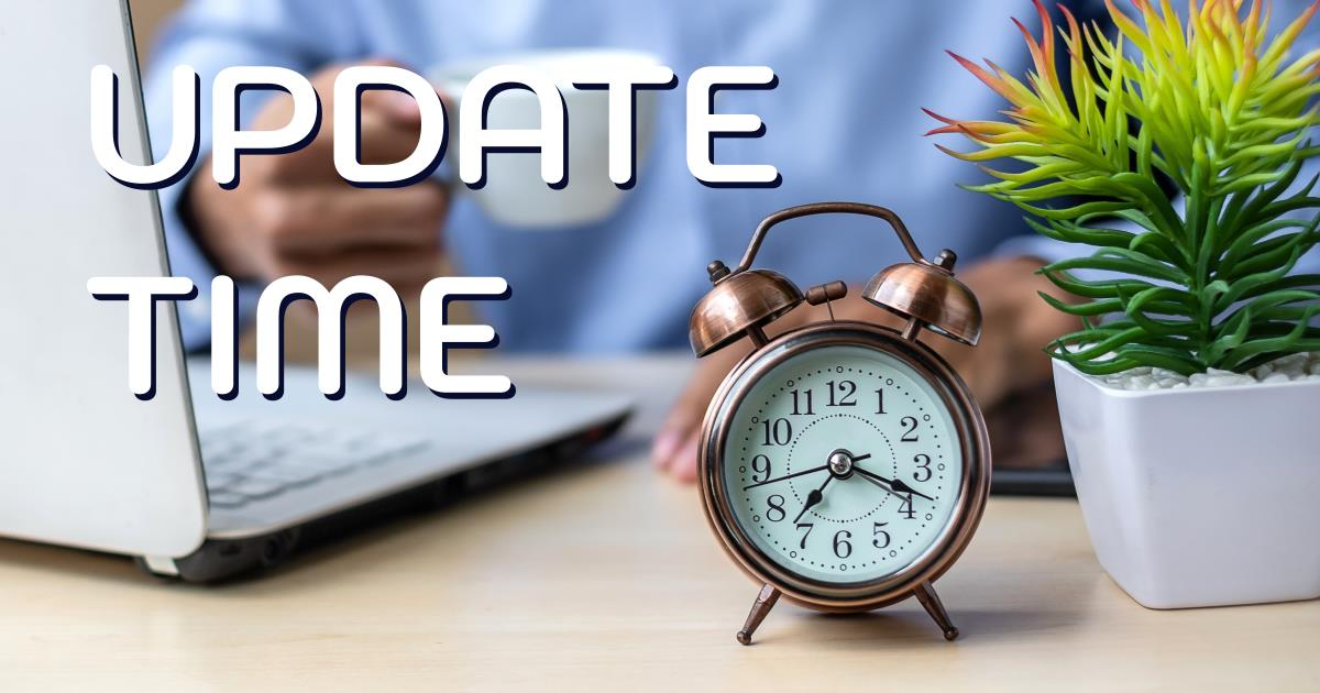 Update time - recruitment software updates cover image